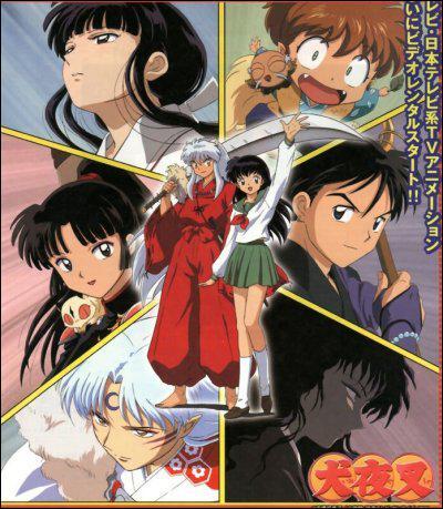 Parmi ces trois mangas, lequel est de Rumiko Takahashi, l'auteur de Inu Yasha ?