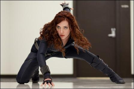 Qui a incarné Natasha Romanoff alias la Veuve Noire dans 'Iron-Man 2' sorti en 2010 ?