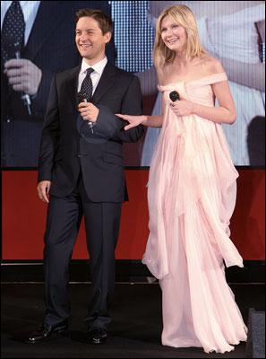 Quels personnages Tobey Maguire et Kirsten Dunst ont-ils joué au cinéma ?