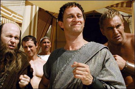Qui interprète Brutus, le fils de César, dans ' asrérix aux jeux olympiques' ?