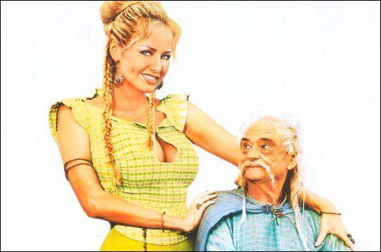 Qui interprète Madame Agecanonix dans ' Astérix aux jeux olympiques' ?