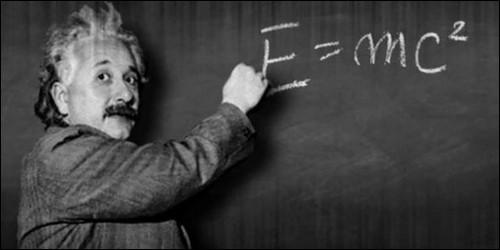 """Dans la formule d'Einstein """"E=mc²"""", le 'C' est une quantité de chaleur."""
