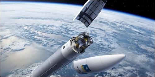 Ariane 5 est un lanceur spatial.