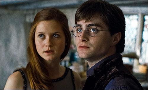 Lors du retour au Terrier , Ginny dit à Harry que Ron et Tonks devaient être les premiers à revenir , mais qu'ils ont raté leur Portoloin. Quels étaient les suivants qui devaient revenir ?