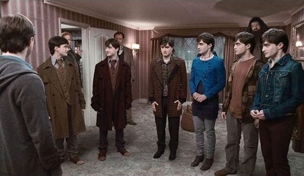 Livre Harry Potter et les Reliques de la Mort