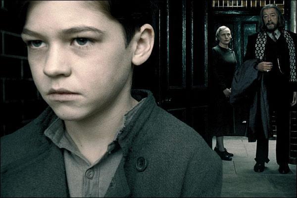 Dumbledore et Harry voyagent dans la Pensine. Ils voient un souvenir en rapport avec l'orphelinat de Tom Jedusor : Mrs Cole, la directrice, demandant à une fille de donner de la teinture d'iode à quelqu'un. A qui ?