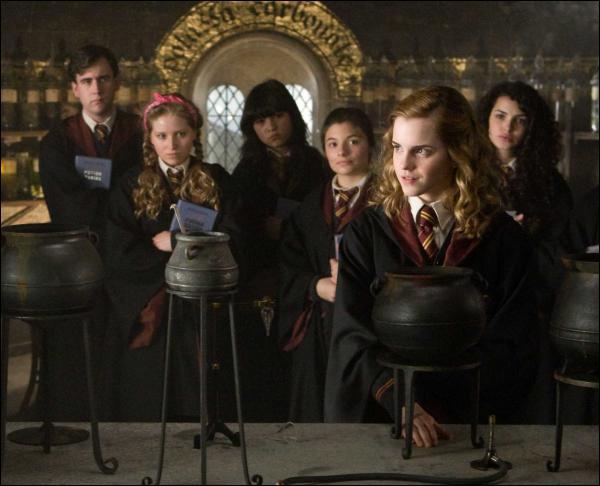 En potions, quelle loi établit que l'antidote d'un poison composé doit être égal à plus que la somme des antidotes de chacun de ses composants ( loi que seule Hermione comprend ) ?