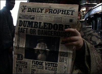 Un matin, la Gazette du Sorcier dit que Mondingus Fletcher a été envoyé à Azkaban. Dans le même exemplaire, on apprend qu'un certain sorcier a disparu. Qui est-il ?