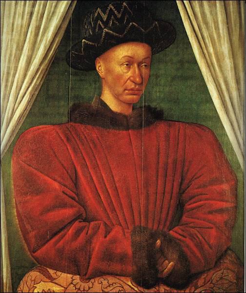 En 1461, Charles VII contracte une sépticémie qui lui sera fatale après s'être ... ?