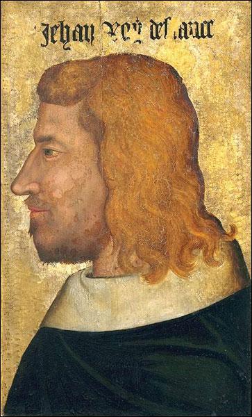 Dans quelle ville décède Jean II le Bon en exil, en 1364 ?