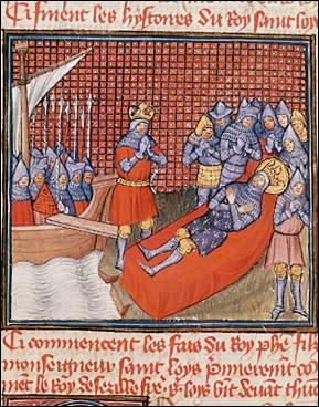 Après sa mort, le corps de Saint Louis est dépecé, bouilli et la chair est séparée des os. Pourquoi ?