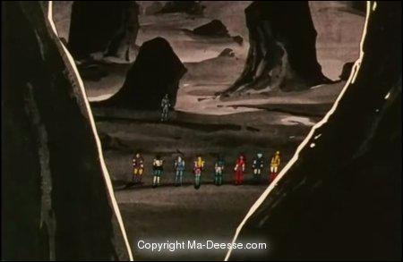 Qui a détruit l'île d'Andromède ?