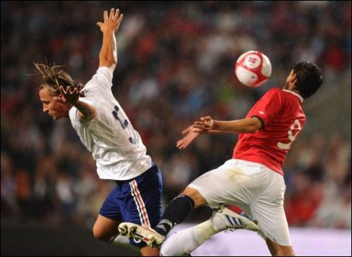 Qui a inscrit l'unique but français lors de la défaite 2-1 en Norvège (premier match avec le nouveau sélectionneur) ?
