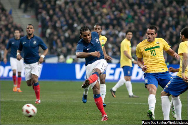 La France connaît un succès de prestige face au Brésil en février 2012 1-0 grâce à un but...