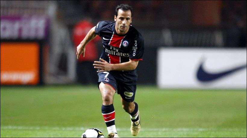 Ludovic Giuly a rejoint cet été...