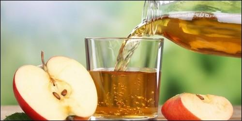 Quelle boisson obtient-on par la fermentation du jus de pomme ?