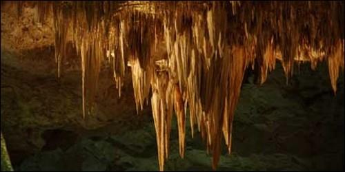 Dans quel sens pousse une stalactite ?