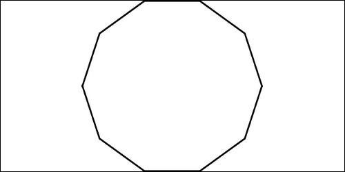 Comment s'appelle un polygone à dix côtés ?