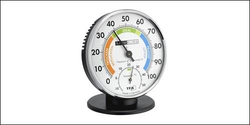 Que mesure un hygromètre ?
