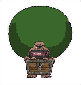Comment s'appelle cet homme que les mugiwara ont rencontré sur une île pleine d'étranges animaux ?