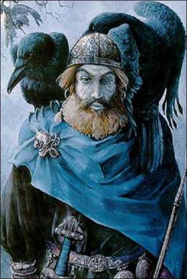Comment Odin est-il représenté traditionnellement ?