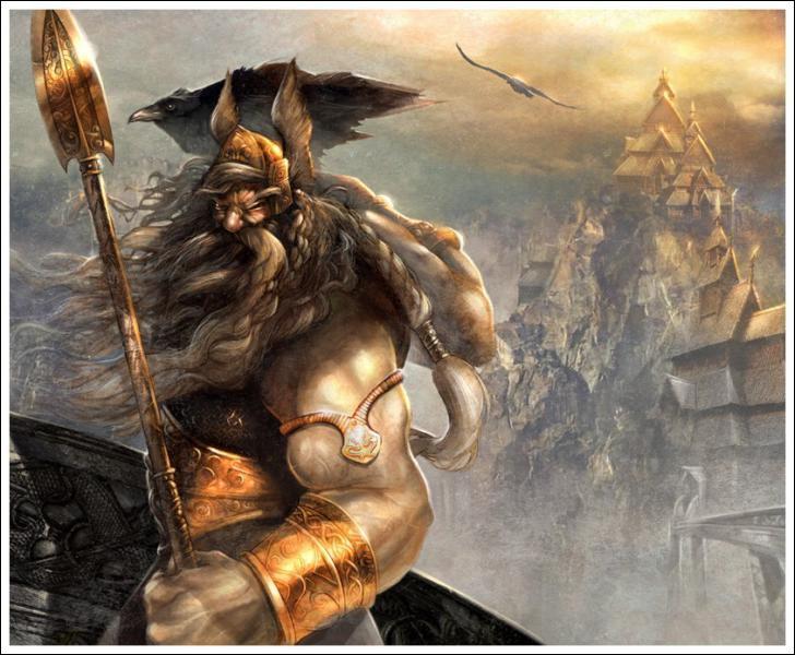 Odin est un dieu plutôt... ?
