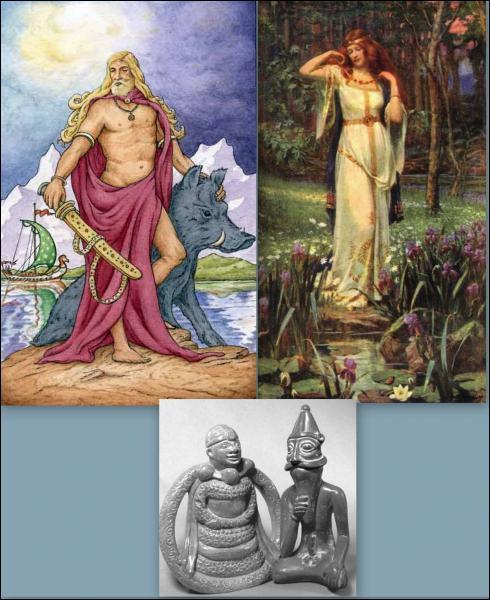 Quel est le rôle du couple divin Freyr et Freyja ? (CLIQUEZ sur l'image pour l'agrandir)