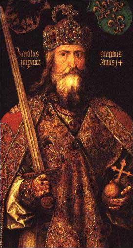 Quel grand souverain a lutté pour convertir les Saxons, cousins des Vikings et adeptes de la religion scandinave ?