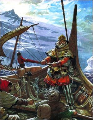 A cet espace s'ajoutent de nouvelles terres colonisées par les Vikings au IXème/Xème siècles :