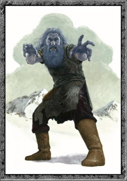 Le premier dieu, un géant né de la rencontre entre feu et glace, s'appelle... ?