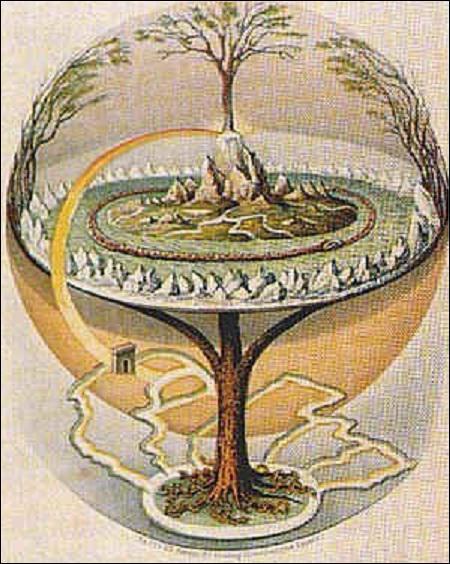 Selon les croyances vikings, c'est grâce à Yggdrasill que le monde tient debout. Yggdrasill est... ?