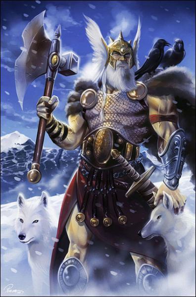 Odin, dieu souverain, est une divinité aux multiples fonctions, mais il est surtout le dieu... ?