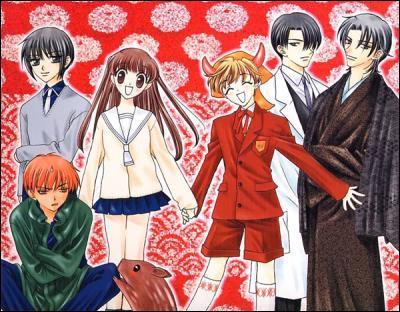 Dans quel manga des gens maudit pas les animaux du zodiaque chinois apparaissent ?