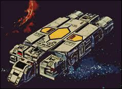 Dans quel dessin animé voit-on ce vaisseau ?