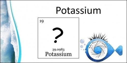 Quel est le symbole du potassium ?