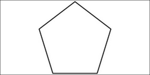 Comment s'appelle un polygone à cinq côtés ?
