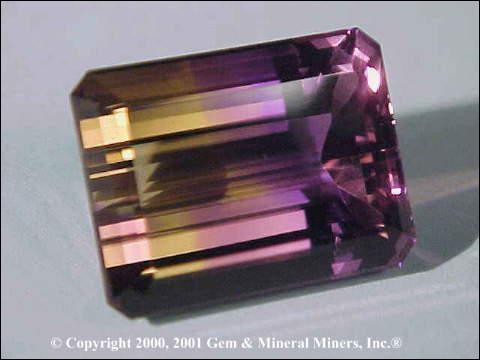 Comment s'appelle cette varieté de quartz composée d'un mélange de citrine et d'améthyste ?