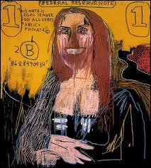 Beaucoup de peintres contemporains ont reproduit la Joconde dans leur propre style . Quel peintre américain a réalisé cette Joconde en 1983 ?