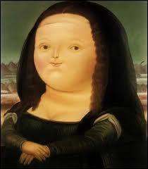 Quel peintre-sculpteur a réalisé cette 'Mona Lisa ' ?
