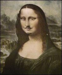 Qui a parodié la Joconde dans cette oeuvre intitulée 'L. H. O. O. Q. ' ?