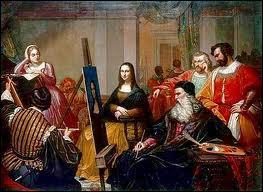 Comment se nommait le modèle qui servit à Léonard de Vinci ?