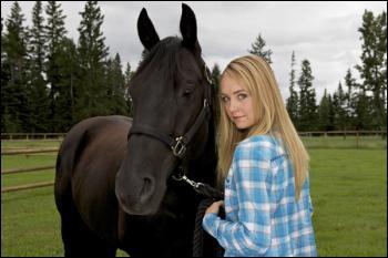 Comment s'appelle ce cheval dans Heartland ?