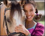 Quel est le cheval de Carole dans Grand Galop ?