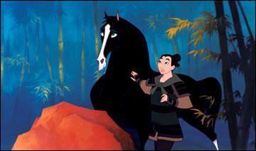 Comment s'appelle le cheval de Mulan (Disney) ?