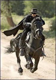 Zorro a un cheval, connais-tu son nom ?