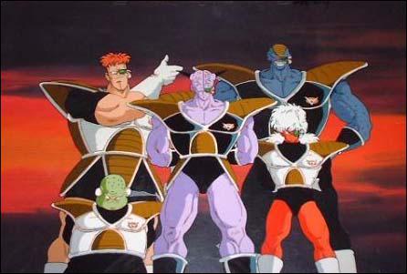 Lequel de ces membres n'est pas dans le commando Ginue ?