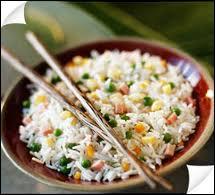 Est-ce du riz au lait ou du riz cantonais ?