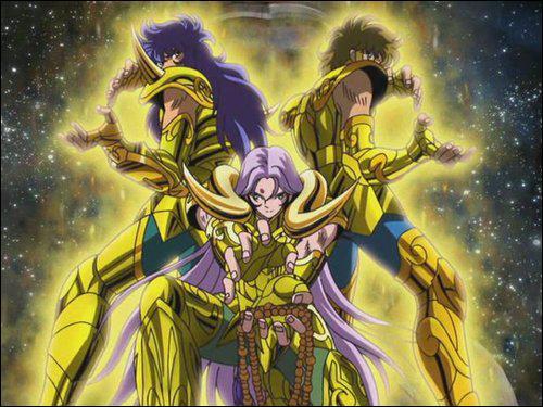 Quel chevalier d'or se tient à droite ?