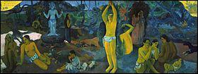 Paul Gauguin : 'd'où venons-nous ? ... sommes-nous ? Où allons-nous ? '.