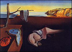 Salvador Dali : 'Persistance ... '.